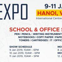 School & Office Expo - Vietnam, 09-11 Jan 2019