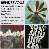 """Rendezvous"" - Andrea Biller Collins, Leslie Jones, Josh Weber at Creative York"