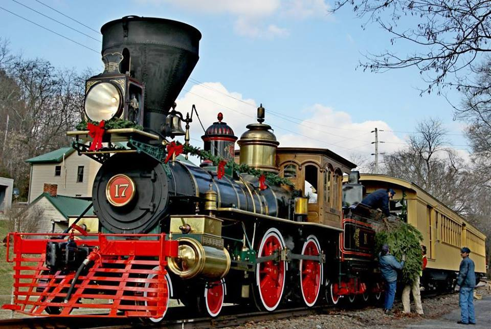 Tannenbaum Transport.Tannenbaum Christmas Tree Train Presented By Steam Into History