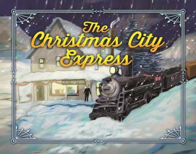 Christmas City Express at Ma & Pa railroad