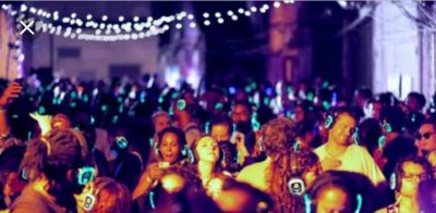 CelebrateARTS Week Presents: Silent Disco with GGB at the Appell Center!