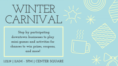 MSH Second Saturday - Winter Carnival
