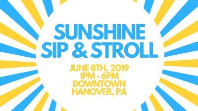 Sunshine Sip & Stroll