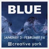 BLUE exhibit at Creative York