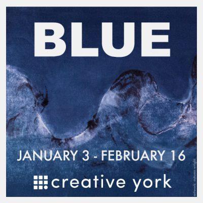 BLUE exhibit at Creative York