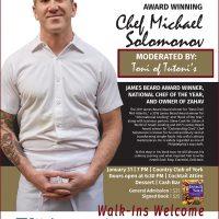 Chef Michael Solomonov Book Tour