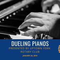 Dueling Pianos hosted by Uptown York Rotary Club