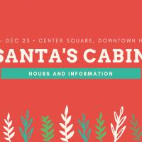 2019 Santa's Cabin