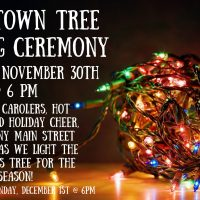 2019 Downtown Tree Lighting Ceremony