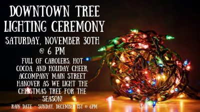2019 Downtown Tree Lighting Ceremony