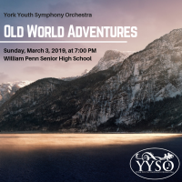 "YYSO: Winter Concert ""Old World Adventures"""
