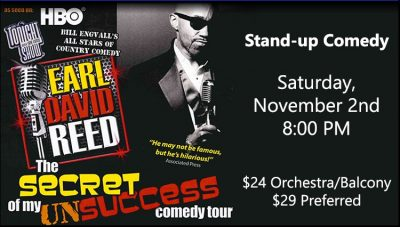 Earl David Reed - Stand Up Comedy