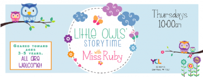 Little Owls' Storytime for Preschoolers