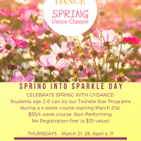 Spring Into Sparkle Day at Greater York Dance