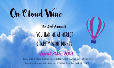 You Had Me at Merlot Charity Wine Dinner