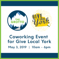 Give Local York - Coworking with The Grotto Community Center