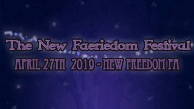 New Faeriedom Festival