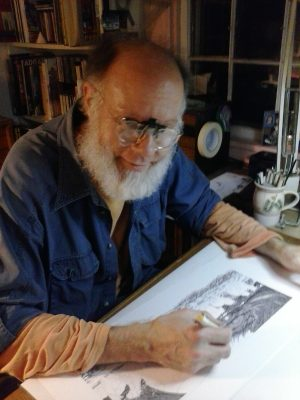 Play at Pen and Ink with Local Artist, Robert Oughton