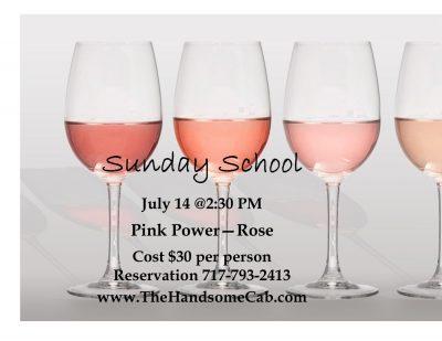 Sunday School - Pink Power