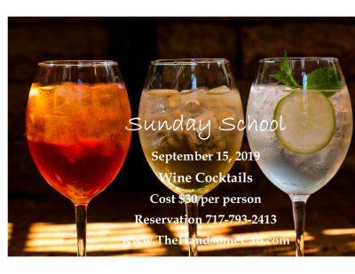 Sunday School - Wine Cocktails