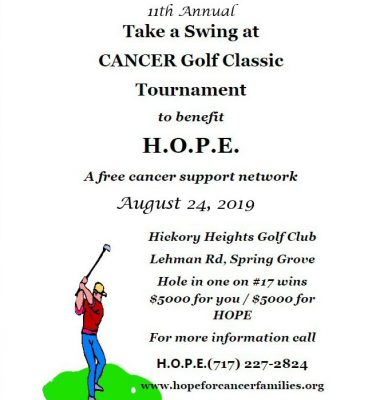 11th Annual Take A Swing At CANCER Golf Classic Tournament