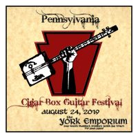Pennsylvania Cigar Box Guitar Festival