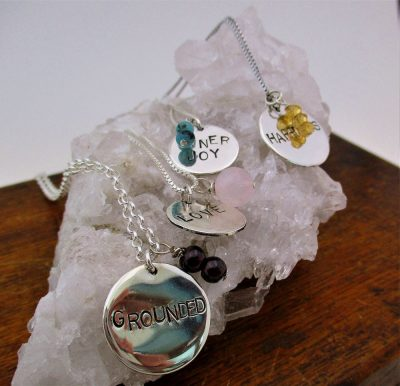 STAMPING WITH INTENTION STERLING SILVER NECKLACE CLASS 6/18/19, 5:30 PM- 8:00 PM