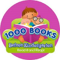 The 1st Annual 1000 Books Before Kindergarten Graduation!