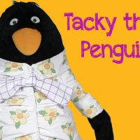 Pajama Party with Tacky the Penguin! All ages.