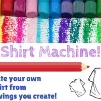 Teen Tuesday: Design your own T-shirt, Ages 9-18