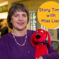 Story Time with Miss Lisa, ages 3-5, for large groups