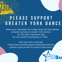 FREE Early Childhood Dance at Greater York Dance
