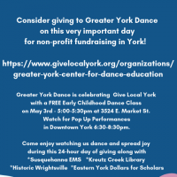 Greater York Dance Performance at Give Local York