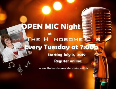 Open Mic with Susie Rav