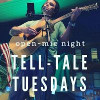 Tell-Tale Tuesdays-Open Mic at CBBC