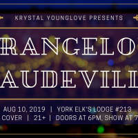 Strangelove Vaudeville Aug 10th at the York Elks (Public Event)