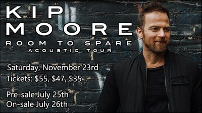 Kip Moore - Room to Spare Acoustic Tour