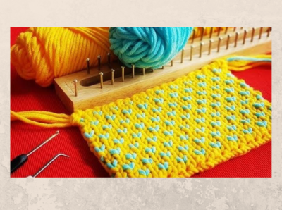 Mrs. Stauffer's Introduction to Loom Knitting Part I II & III, ages 10 and up