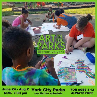"Creative York's ""Art In The Parks"" Free Summer Program"