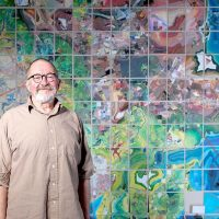 Guest Artist Lecture with Jerry Gretzinger: Jerry's Map