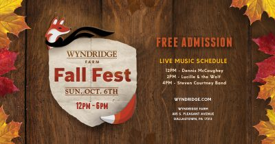 Wyndridge Farm Fall Fest