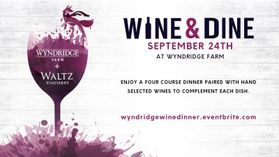 Wine & Dine With Wyndridge and Waltz