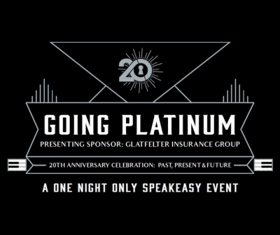Going Platinum - A 20th Anniversary Speakeasy Event