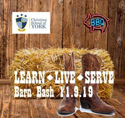 Learn Live Serve for Education Barn Bash