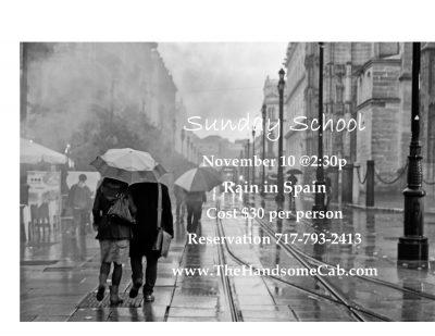 Sunday School - Rain in Spain