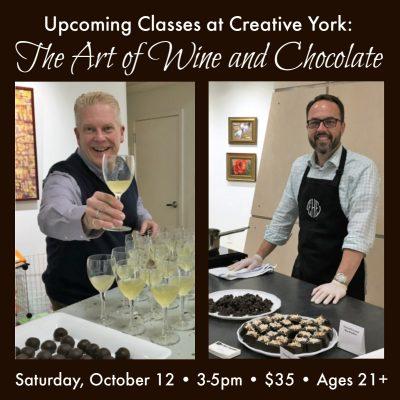 The Art of Wine and Chocolate at Creative York