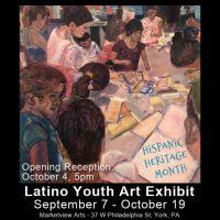 Hispanic Heritage Month: Latino Youth Art Exhibit at Marketview Arts