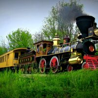 PRR Rail Fan Day on the Glen Rock Express with No.17