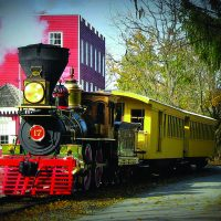 PRR Rail Fan Day on the Hanover Junction Flyer with No.17