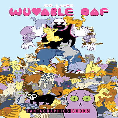 Guest Artist Lecture with Ed Luce: Ten Years of Wuvable Oaf